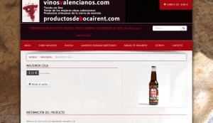 Malferida en vinos Valencianos