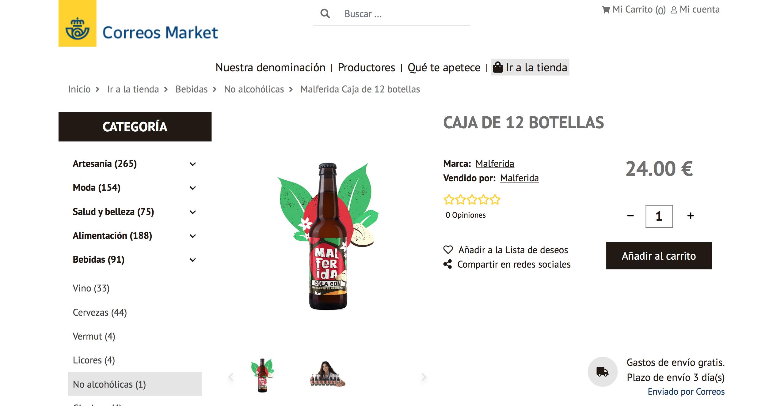 Correos Market Malferida